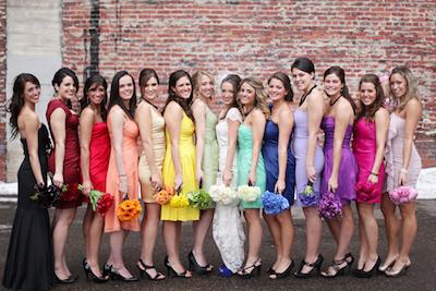 おしゃれな結婚式が増殖中!ブライズメイドの役割って何!?
