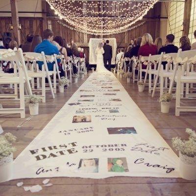 結婚式二次会でも大活躍!大流行のアイルランナー活用方法