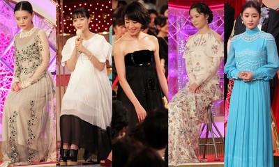 素敵すぎるDRESS!DRESS!DRESS!第40回日本アカデミー賞の女優ドレス