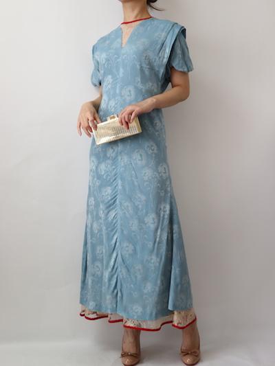 サイズガイド【mame】カーネーションウィローロングドレス