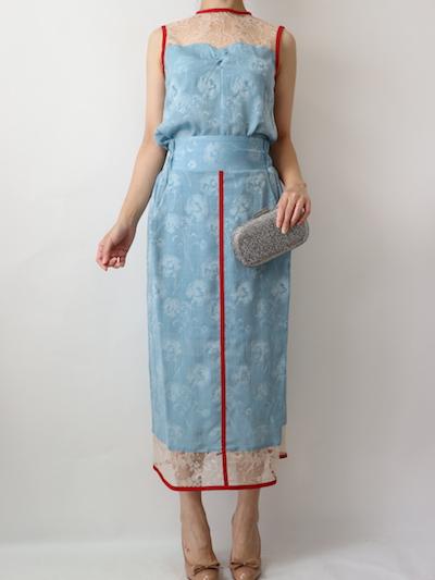 サイズガイド【mame】  カーネーションウィロートップス&スカート